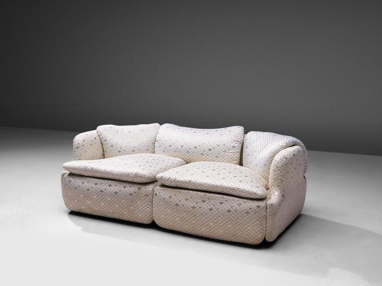Mid-Century Modern Alberto Rosselli for Saporiti 'Confidential' Sofa For Sale