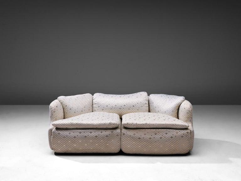 Italian Alberto Rosselli for Saporiti 'Confidential' Sofa For Sale