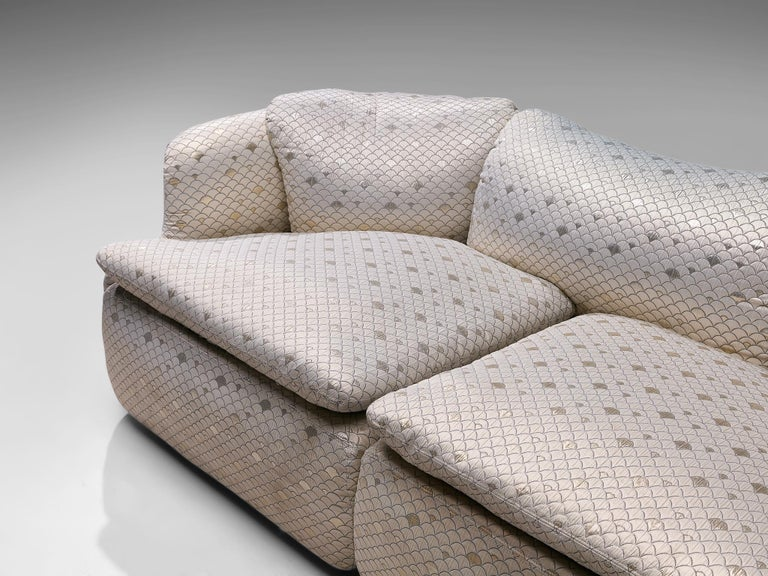 Late 20th Century Alberto Rosselli for Saporiti 'Confidential' Sofa For Sale