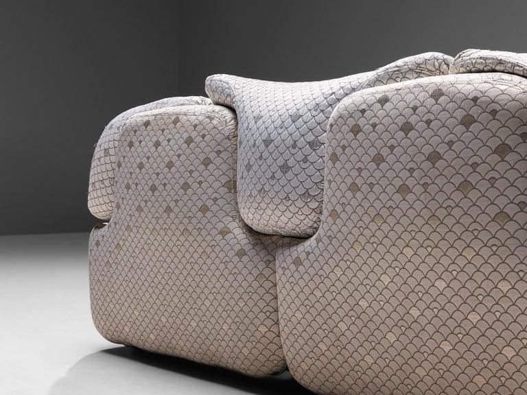 Alberto Rosselli for Saporiti 'Confidential' Sofa For Sale 1