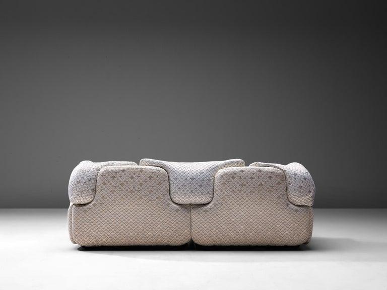 Alberto Rosselli for Saporiti 'Confidential' Sofa For Sale 2