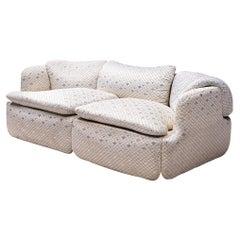 Alberto Rosselli for Saporiti 'Confidential' Sofa