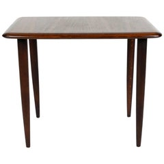 Alberts Tibro Rosewood Side Table, made in Sweden 1960s, Signed