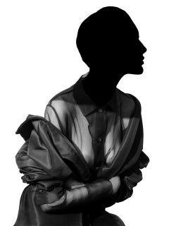 Charlotte in Prada, Milan, 1988 – Albert Watson, Celebrity, Fashion, Woman, Art