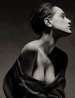 Charlotte, New York City, 1988 – Albert Watson, Black & White, Celebrity, Woman