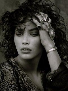 Christy Turlington, Luxor, Egypt, 1987 – Albert Watson, Celebrity, Fashion