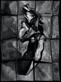 Gun from the Mirror series – Albert Watson, Art, Gun, Black and White, Abstract