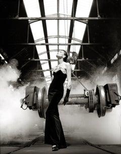 Ines De La Fressange in Chanel, Paris, 1985  – Albert Watson, Celebrity, Fashion
