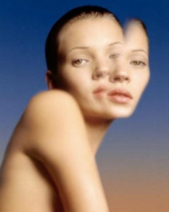 Kate Moss Abstract, Reflection on Water, (new) – Albert Watson, Woman, Portrait