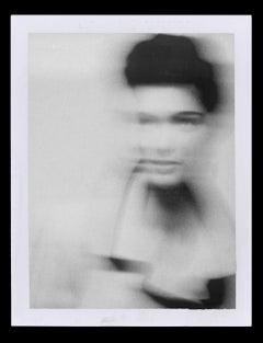 Lynn Koester, Paris – Albert Watson, black and white, Portrait, woman, model