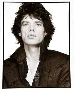 Mick Jagger, New York City, 1989 – Albert Watson, Art, Black and White, Portrait
