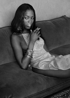 Naomi in Morocco – Albert Watson, Black & White, Fashion, Naomi Campbell