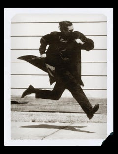 Running Man, L'Uomo Vogue, San Francisco – Albert Watson, Black and White, Print