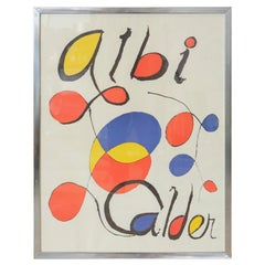 Albi Calder by Alexander Calder Lithograph Poster