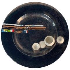 Albisola Ceramic Plate by Carlos Carlè, Italy
