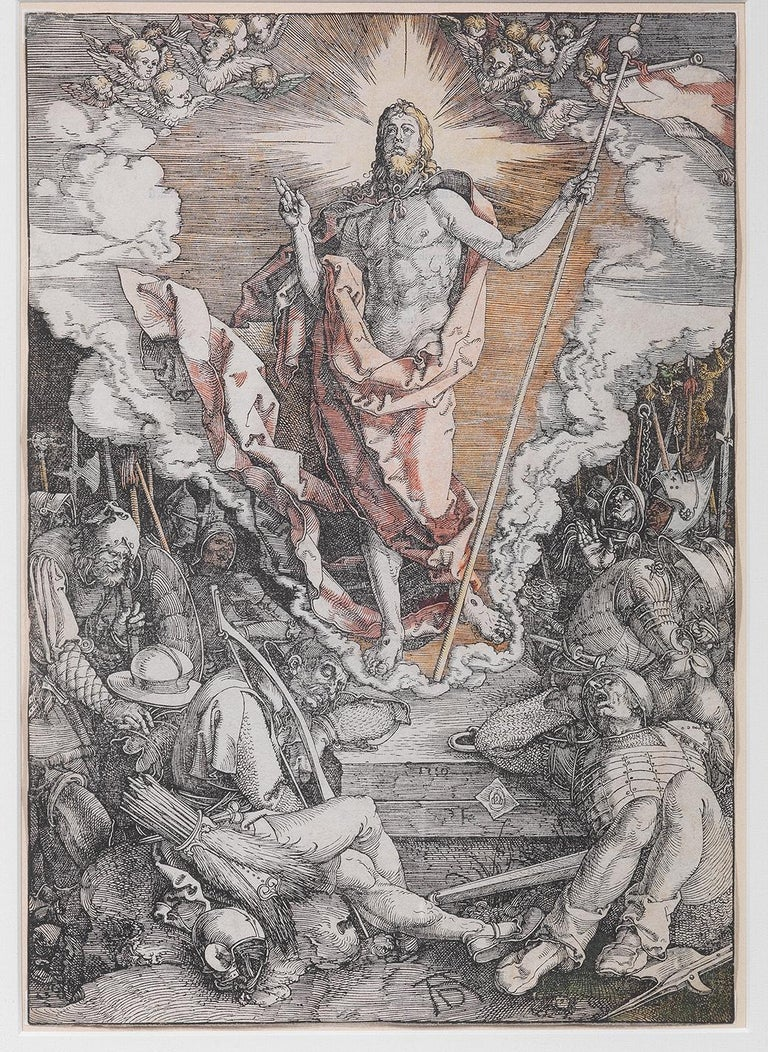 Renaissance Albrecht Dürer, '1471-1528' the Resurrection, from the Large Passion For Sale