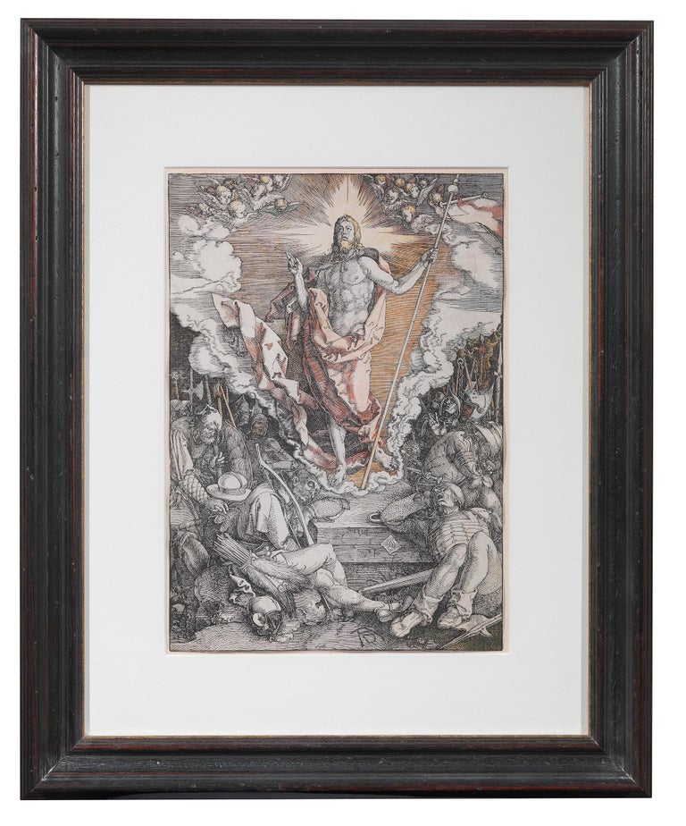 Dutch Albrecht Dürer, '1471-1528' the Resurrection, from the Large Passion For Sale
