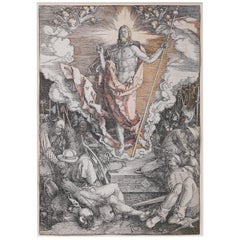 Albrecht Dürer, '1471-1528' the Resurrection, from the Large Passion
