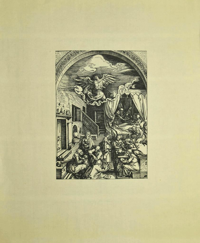 Birth of Mary - Woodcut After Albrecht Dürer - Early 20th Century