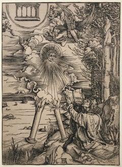 SAINT JOHN DEVOURING THE BOOK - Lifetime  - 1511 Edition