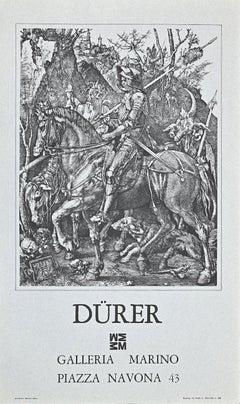 Vintage Albrecht Durer Exhibition Poster - Offset Print - 1976