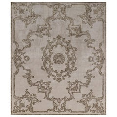 Hand Knotted silk rug - Aldebaran Tan, Edition Bougainville