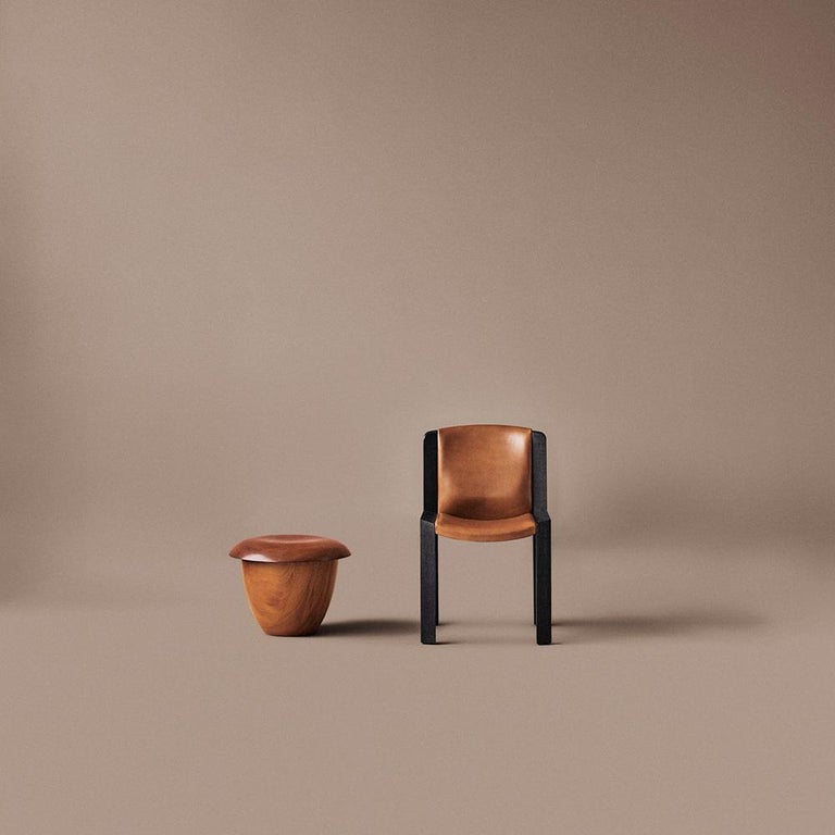 Danish Aldo Bakker 'Bon' Wood Stool by Karakter For Sale