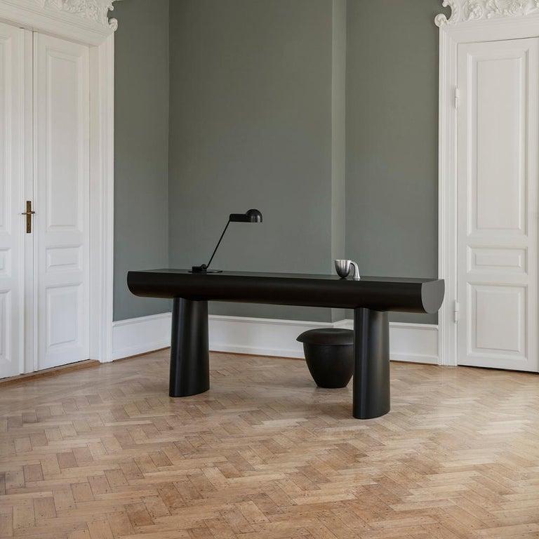Contemporary Aldo Bakker 'Bon' Wood Stool by Karakter For Sale