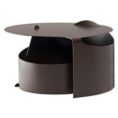 Aldo Bakker Coffee Table Lounge, Rolle Steel by Karakter