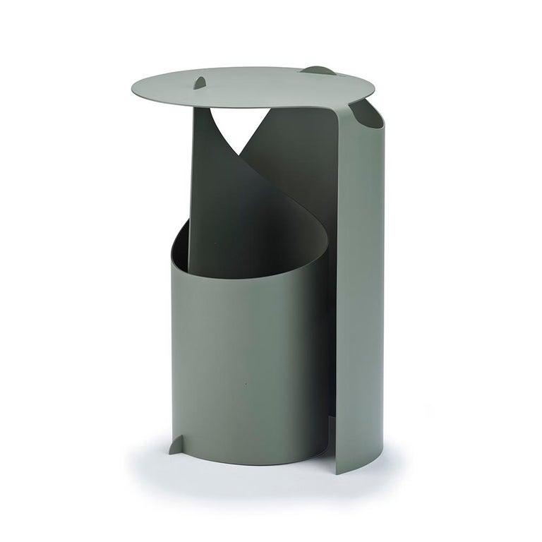 Danish Aldo Bakker Coffee Table, Rolle Steel by Karakter For Sale