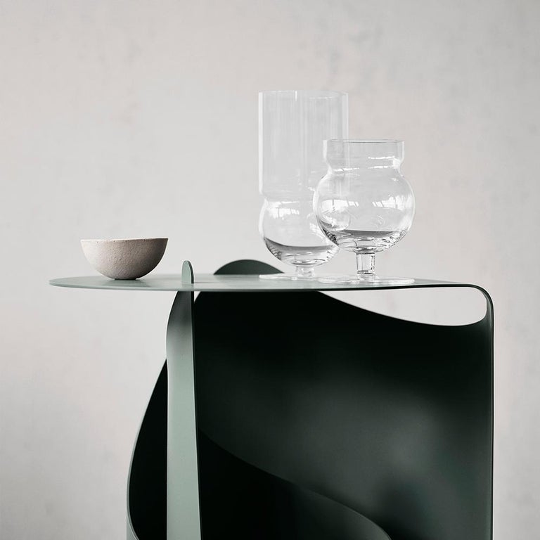 Aldo Bakker Coffee Table, Rolle Steel by Karakter For Sale 3