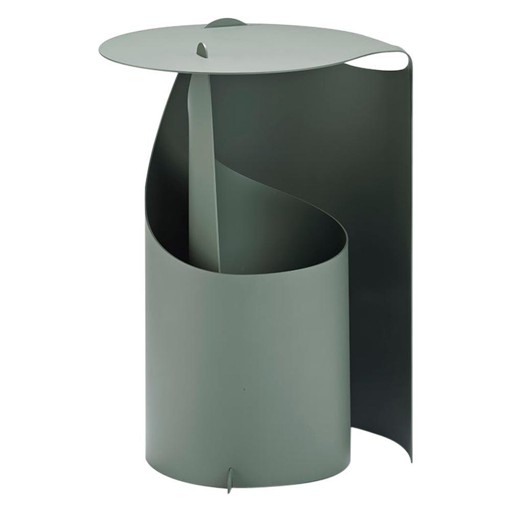 Aldo Bakker Coffee Table, Rolle Steel by Karakter