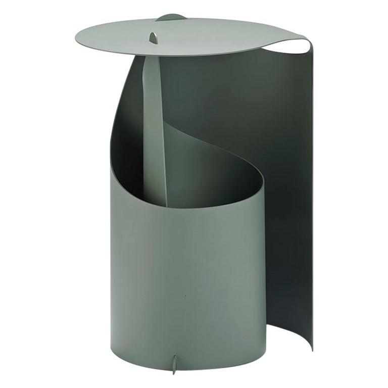 Aldo Bakker Coffee Table, Rolle Steel by Karakter For Sale