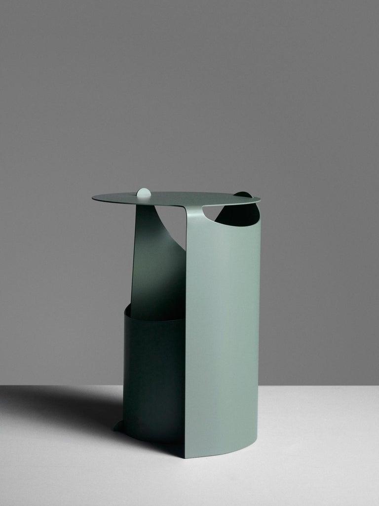 Danish Aldo Bakker Side Table Green Karakter Coppenhagen Editions For Sale