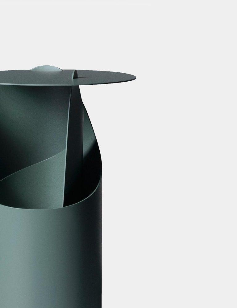 Contemporary Aldo Bakker Side Table Green Karakter Coppenhagen Editions For Sale