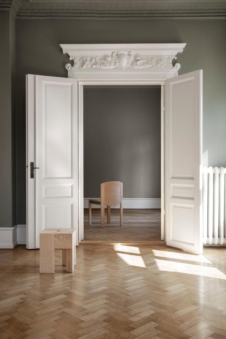 Danish Aldo Bakker 'Triangle' Wood Stool or Side Table For Sale