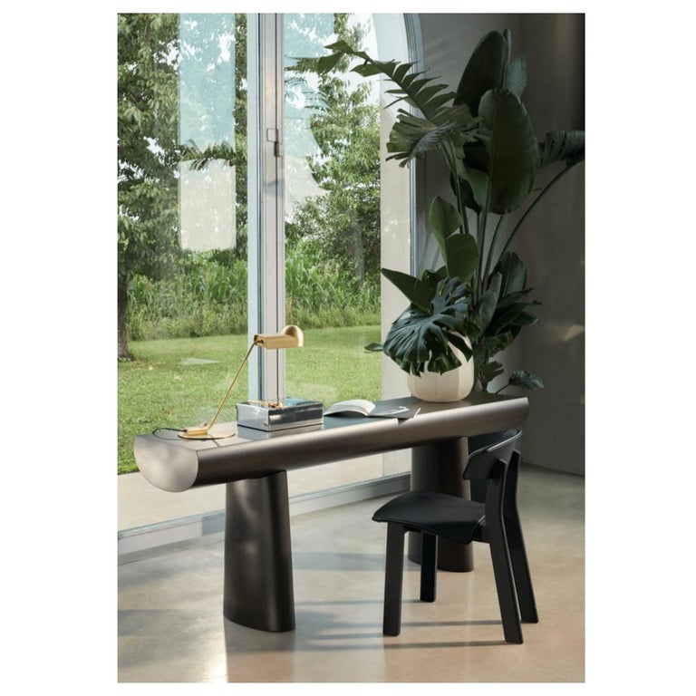 Aldo Bakker Wood Console Table, Apricot Color by Karakter For Sale 8