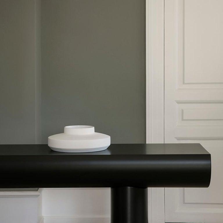 Aldo Bakker Wood Console Table, Light Grey Color by Karakter For Sale 1