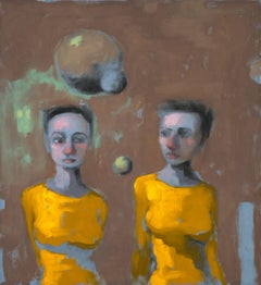 Five Senses: Sight, Painting, Oil on Canvas