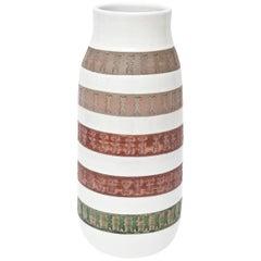 Aldo Londi Bitossi Ceramic Vase or Vessel Mid-Century Modern