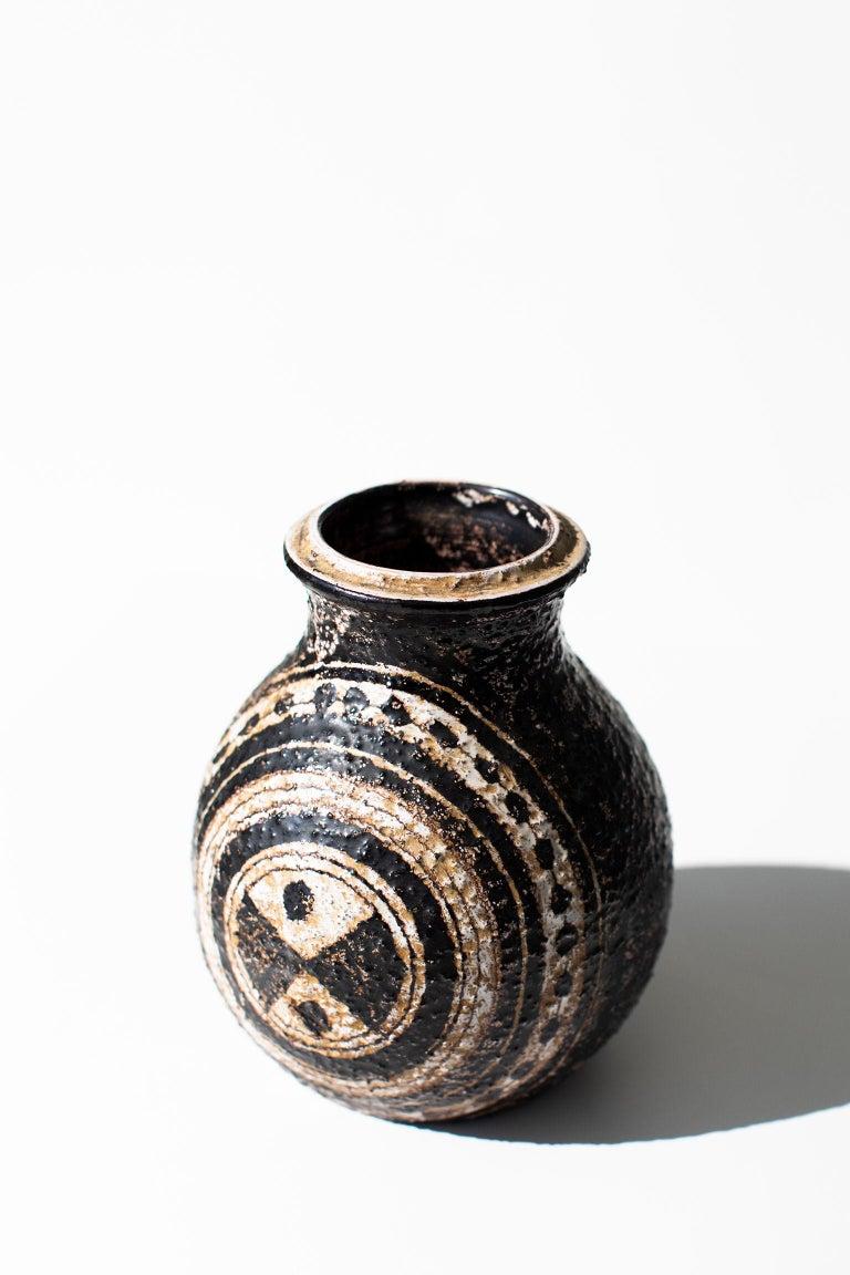 Mid-Century Modern Aldo Londi Bitossi Vase for Rosenthal Netter: Marocco For Sale