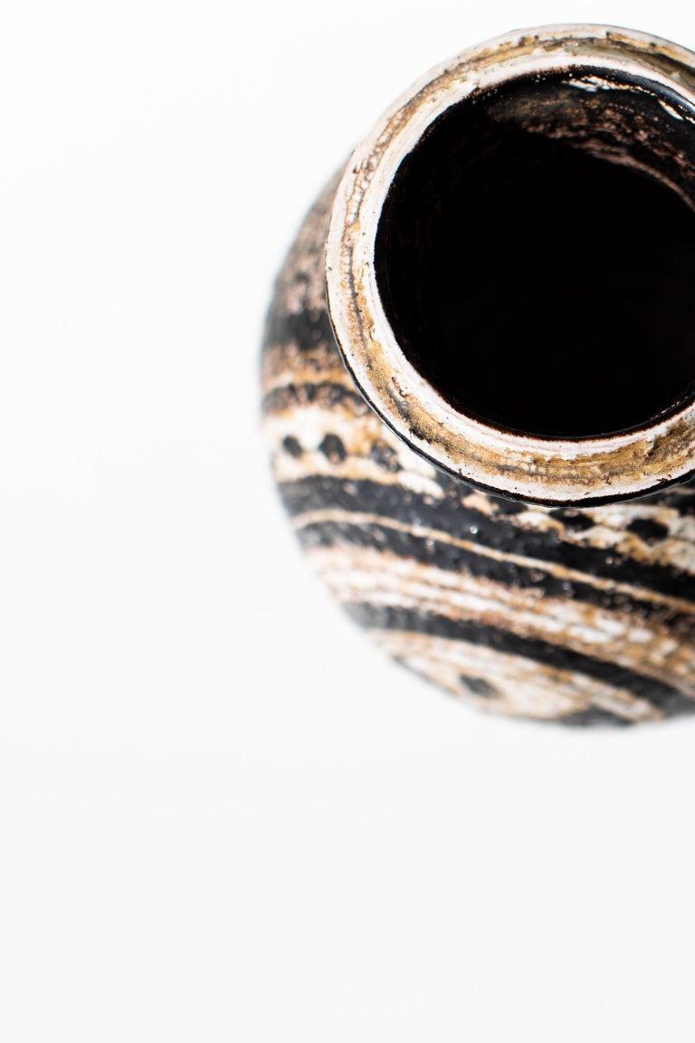 Mid-20th Century Aldo Londi Bitossi Vase for Rosenthal Netter: Marocco For Sale