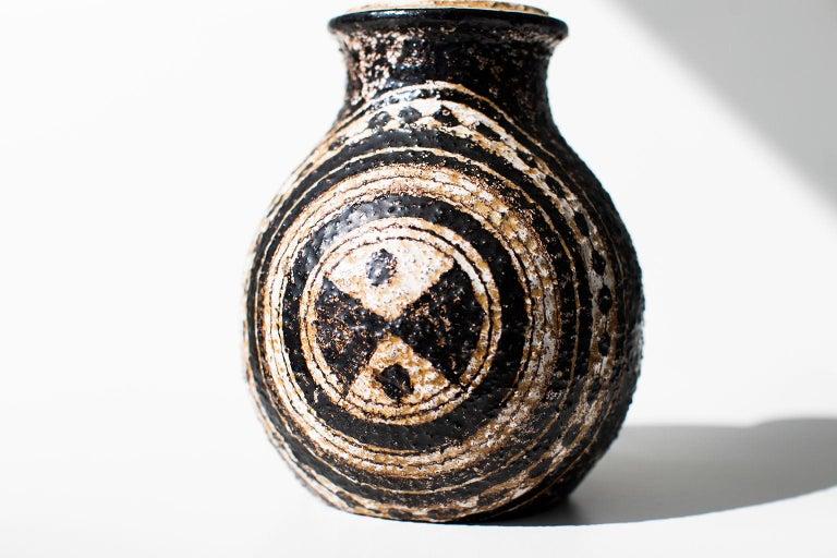 Pottery Aldo Londi Bitossi Vase for Rosenthal Netter: Marocco For Sale