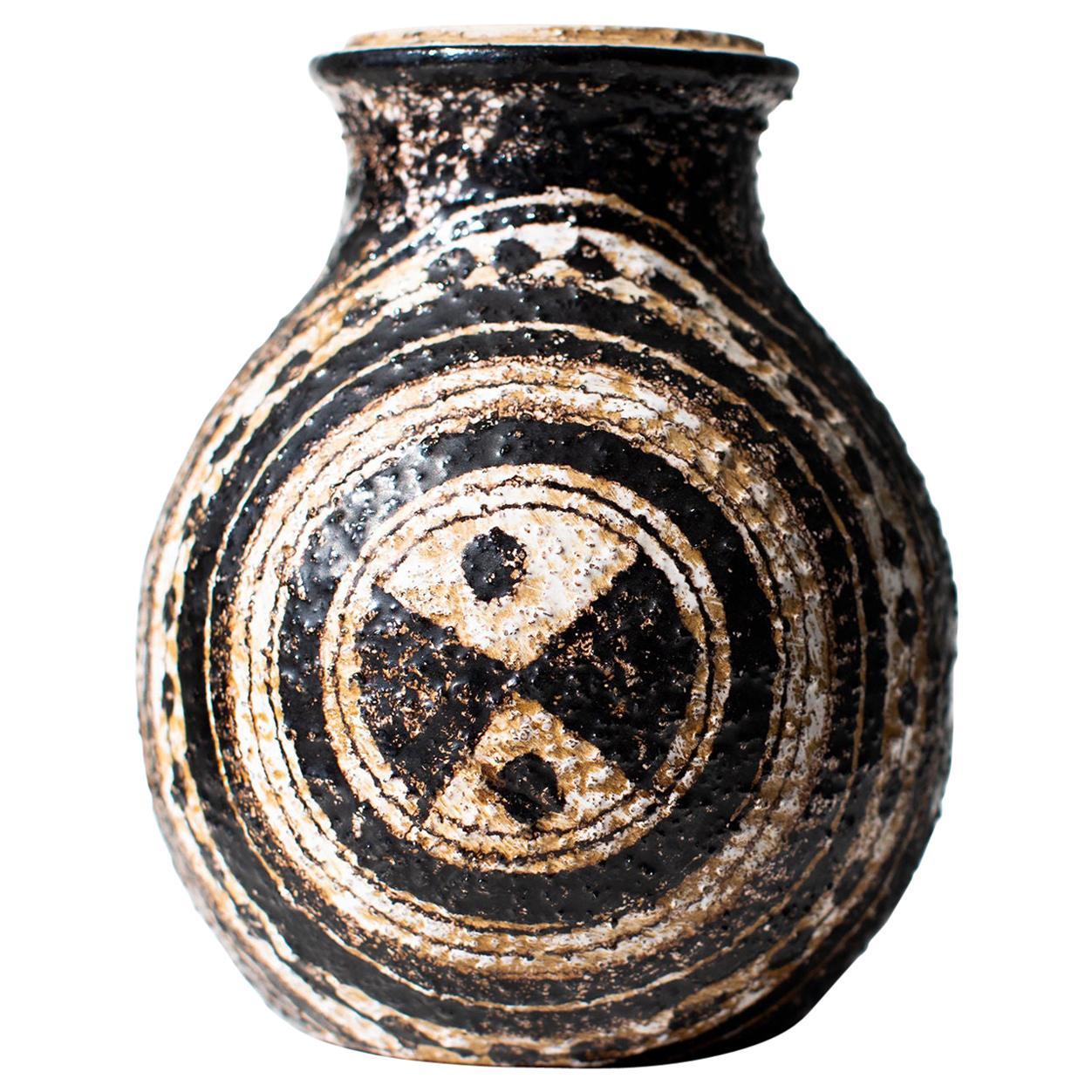 Aldo Londi Bitossi Vase for Rosenthal Netter: Marocco