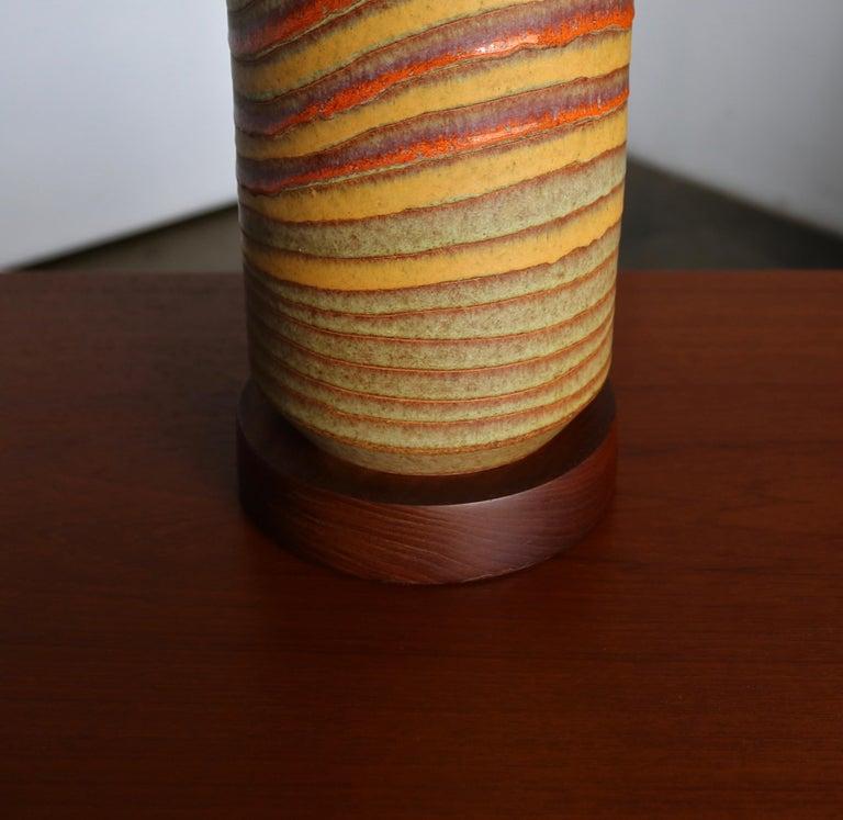 Aldo Londi Ceramic Table Lamps for Bitossi, circa 1960 For Sale 1