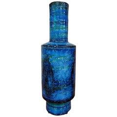 Aldo Londi for Bitossi Midcentury Italian Ceramic Vase