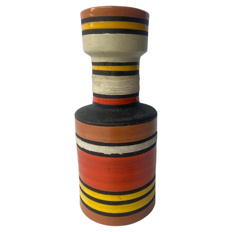 Aldo Londi for Bitossi, Raymor Cambogia Pottery/Ceramic Vase For Sale