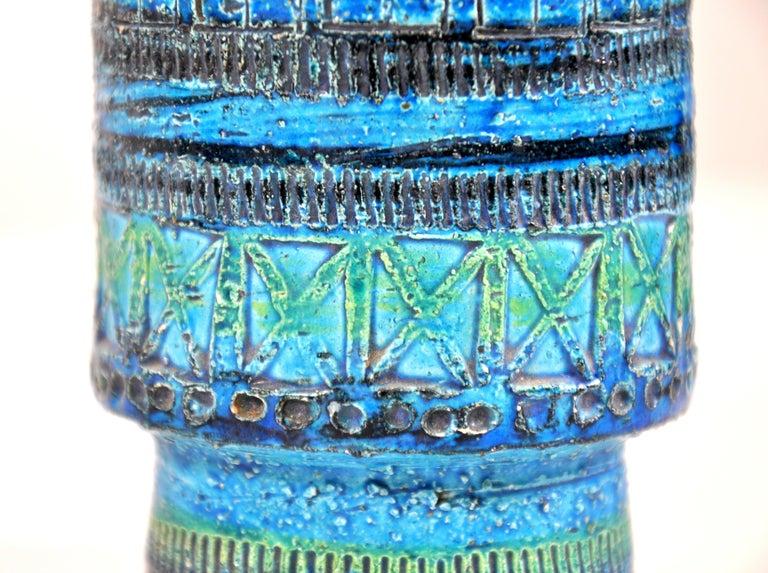 Aldo Londi for Bitossi Rimini Blu Vase 1