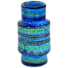 Aldo Londi for Bitossi Rimini Blu Vase