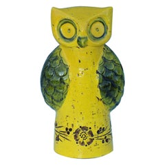 Aldo Londi for Bitossi Yellow Owl